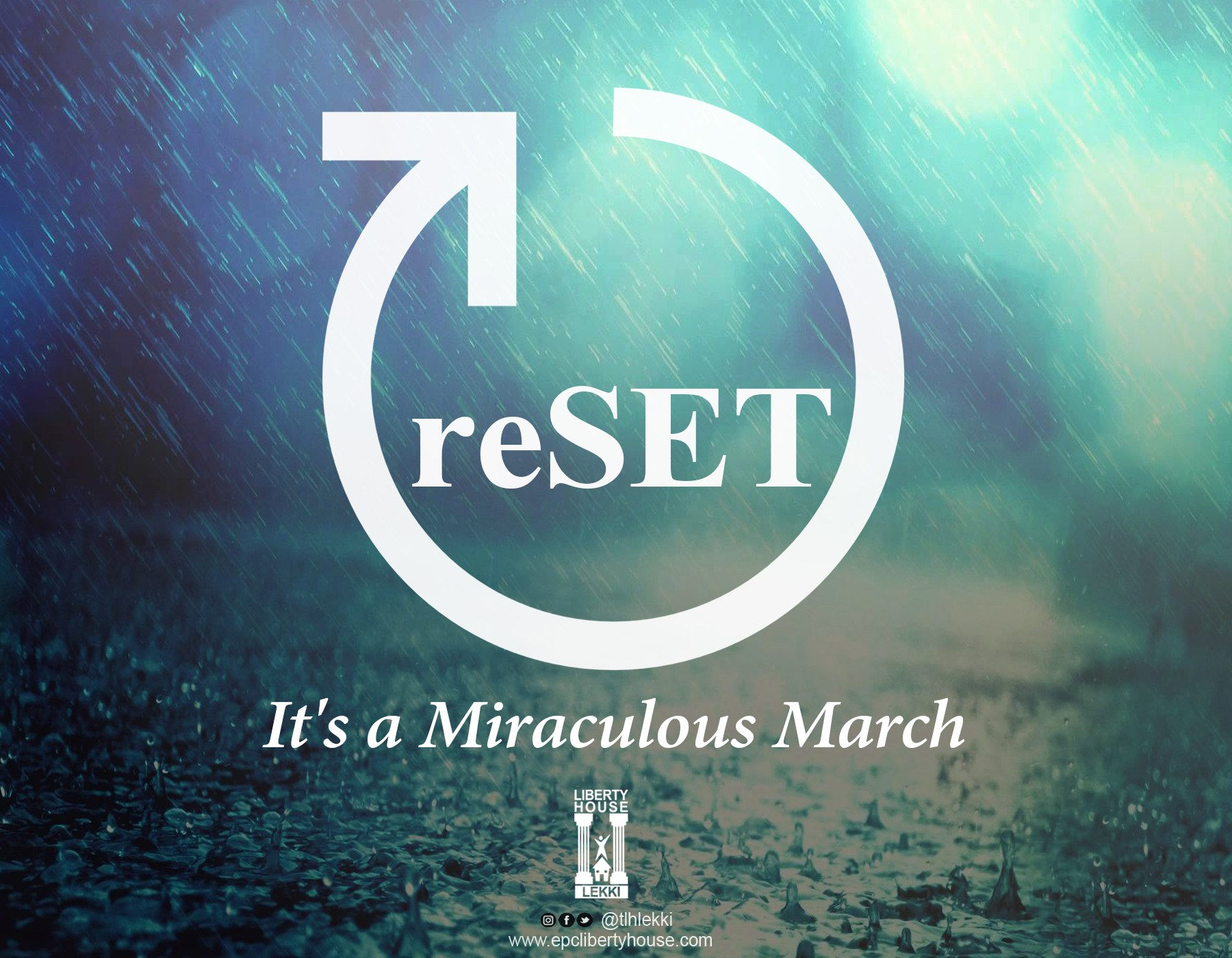 #RESET – Realise|Everything|Soon|Ends-in|Testimony