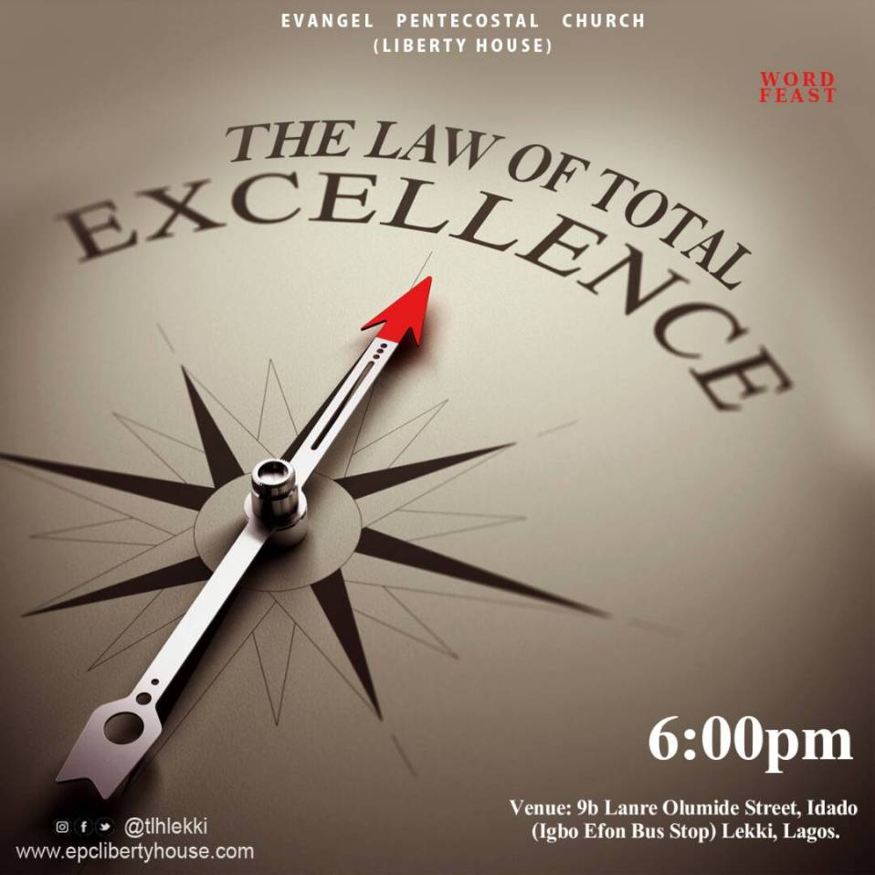 27th July, 2017 - The Law of Total Excellence